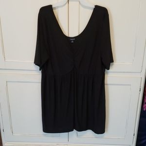 Black Babydoll Top